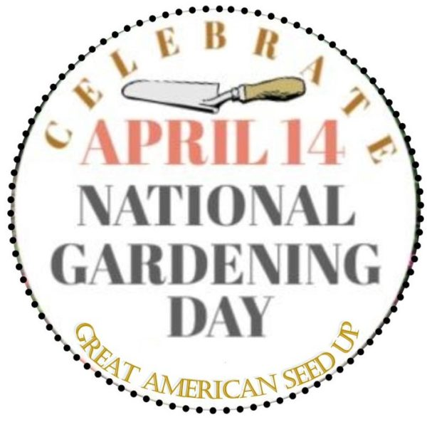 April 14 is National Gardening Day